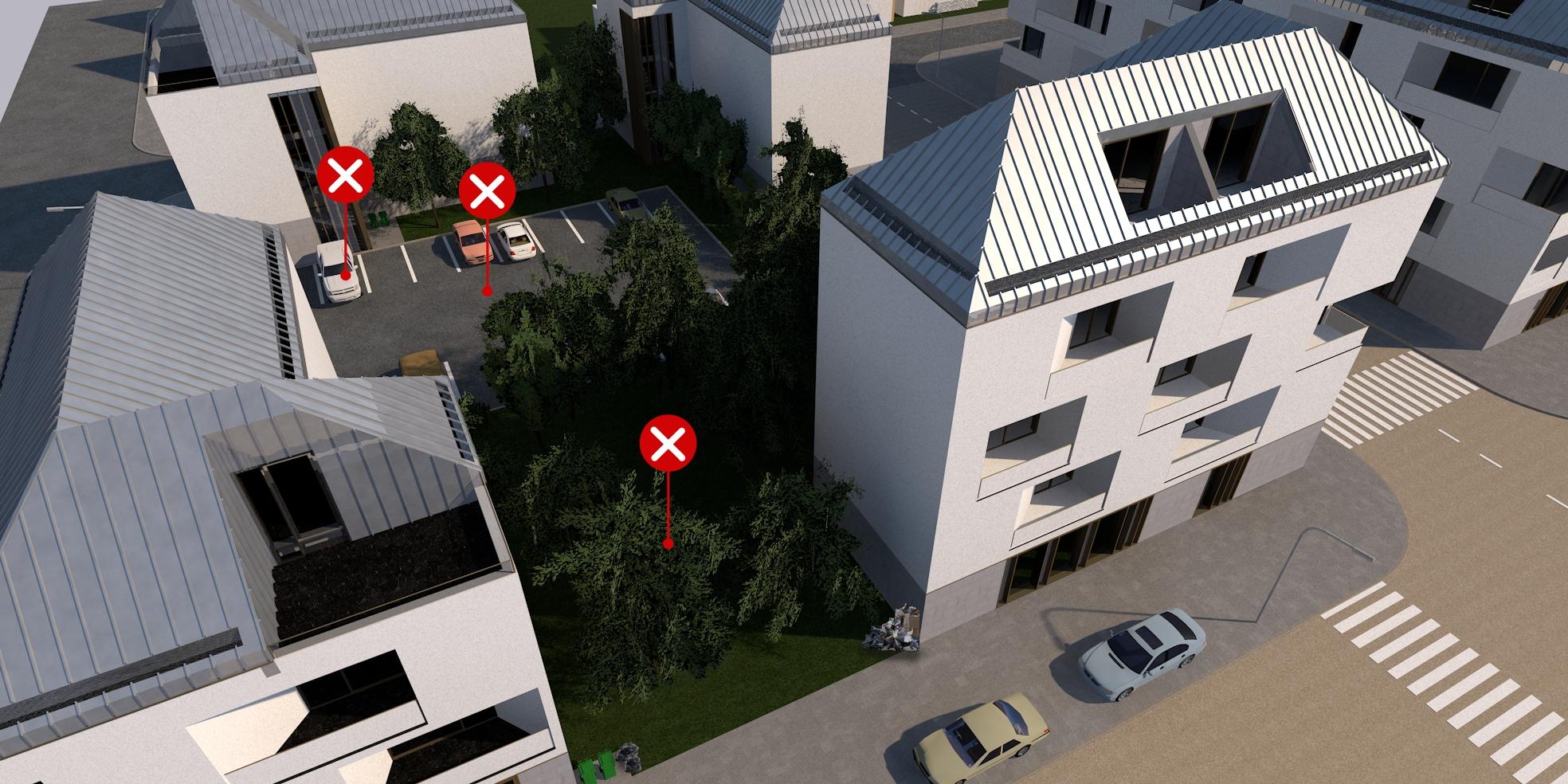 2 – Parkoló elhelyezése