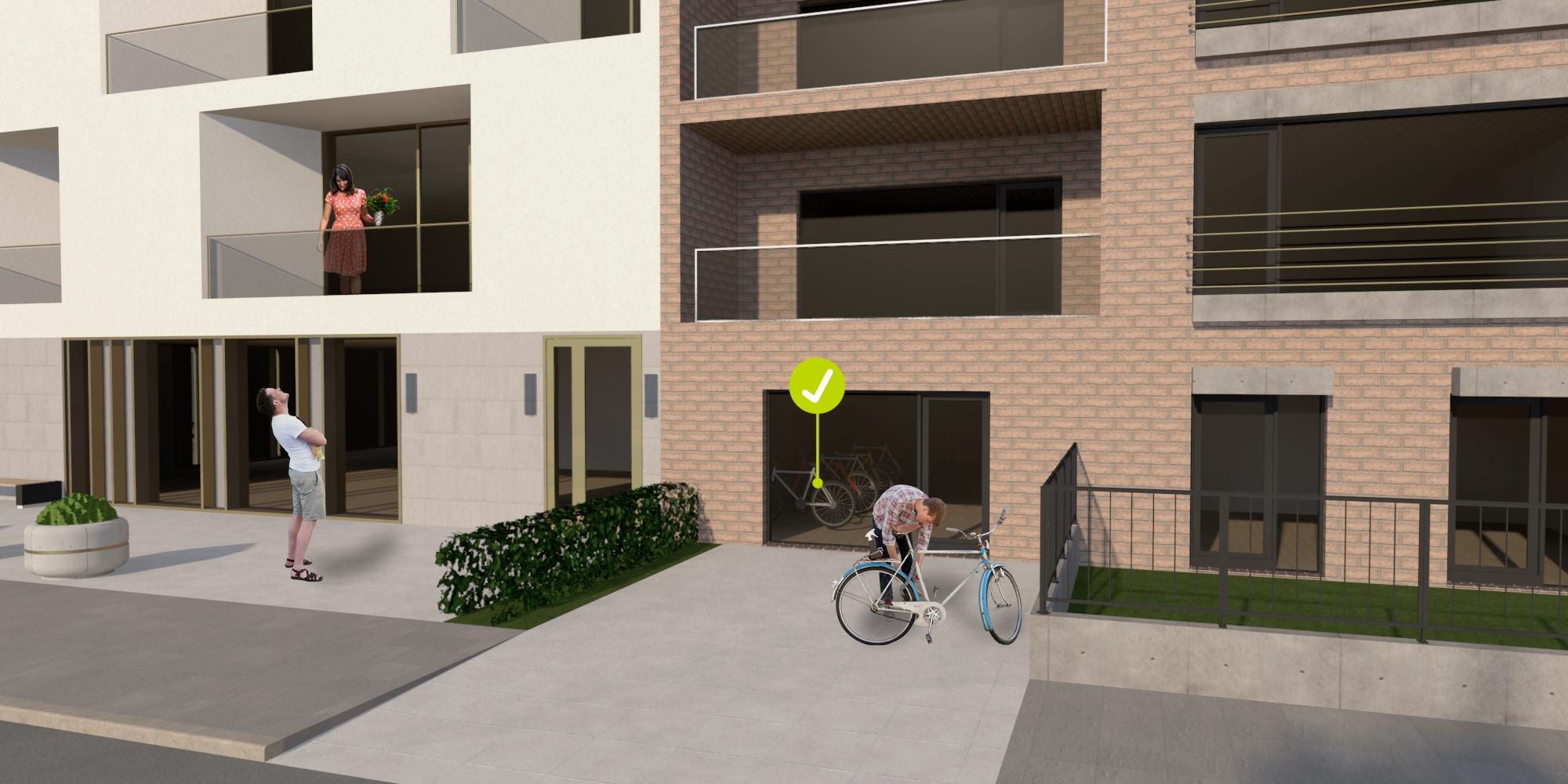 24 – Kerékpártárolás társasházaknál – biztonságos